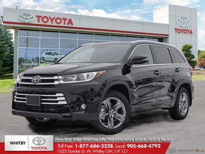 2019 Toyota HIGHLANDER LIMITED/LTD PL LA20
