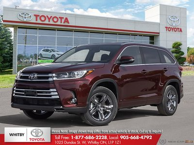 2019 Toyota HIGHLANDER LIMITED/LTD PL Limited