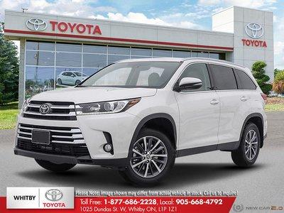 2019 Toyota HIGHLANDER XLE AWD LB20