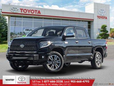 2019 Toyota TUNDRA 4X4 CREWMAX PLATINUM Platinum