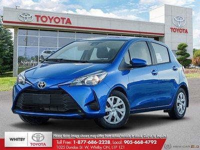 2019 Toyota YARIS HATCHBACK 5DR LE 4A FB20