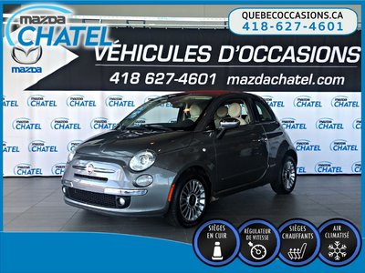Fiat 500C LOUNGE - CUIR - CRUISE - BLUETOOTH - A/C 2013