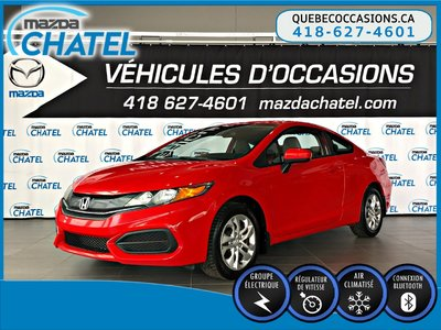 2014 Honda Civic Coupe LX - CRUISE - BLUETOOTH - SIÈGES CHAUFFANTS