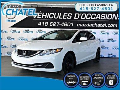 Honda Civic Sedan EX - TOIT OUVRANT - SIEGES CHAUFFANTS - CAMÉRA 2015