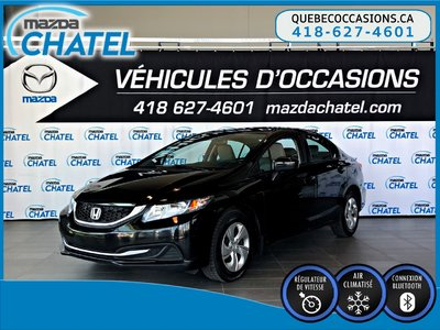 Honda Civic Sedan LX -  CRUISE - BLUETOOTH - CAMERA DE RECUL 2015