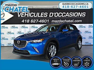 2016 Mazda CX-3 GS AWD - CAMÉRA - SIÈGES CHAUFFANTS - CRUISE