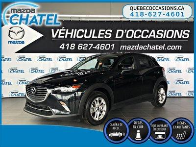 Mazda CX-3 GS-L - CUIR - TOIT OUVRANT - SIÈGES CHAUFFANTS 2016