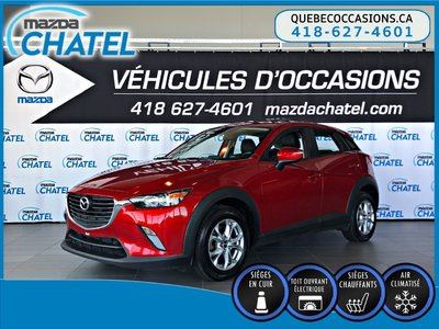 2016 Mazda CX-3 GS-L AWD - TOIT OUVRANT - CUIR - CAMÉRA