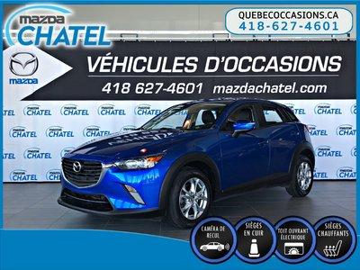 2016 Mazda CX-3 GS-L - TOIT OUVRANT - CUIR - CAMÉRA