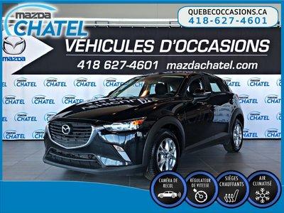 2017 Mazda CX-3 GS AWD - CAMÉRA - SIÈGES CHAUFFANTS - CRUISE