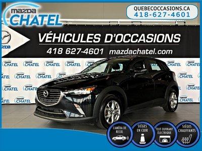 Mazda CX-3 GS-L AWD - CUIR - TOIT OUVRANT - CAMÉRA 2017