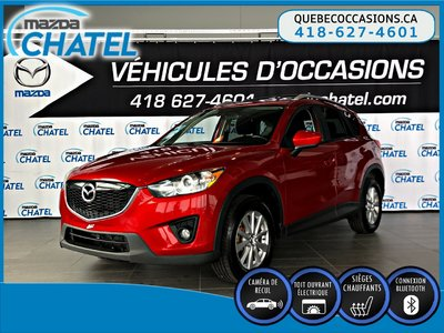 2014 Mazda CX-5 GS AWD - TOIT OUVRANT - SIEGES CHAUFFANTS - CAMÉRA