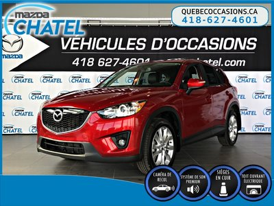 2015 Mazda CX-5 GT AWD - CUIR - TOIT OUVRANT - SIEGES CHAUFFANTS