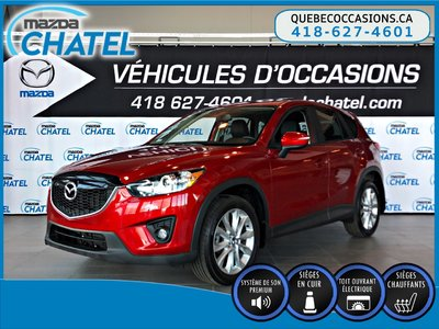 2015 Mazda CX-5 GT AWD - CUIR - TOIT OUVRANT - SIÈGES CHAUFFANTS