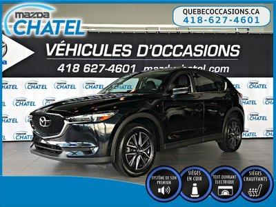 Mazda CX-5 GT AWD - CUIR - TOIT OUVRANT - GPS 2017