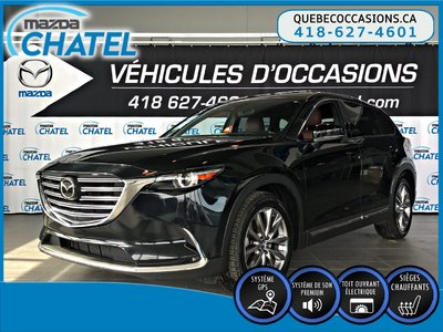 2017 Mazda CX-9 SIGNATURE - AWD - CUIR NAPA -  NAVIGATION