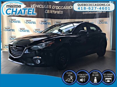 2015 Mazda Mazda3 Sport GT - MANUELLE - CUIR - TOIT OUVRANT