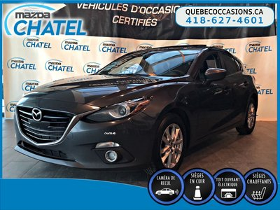 2015 Mazda Mazda3 Sport GT - CUIR - TOIT OUVRANT - SIEGES CHAUFFANTS