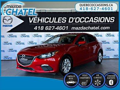 Mazda3 Sport GS - SIÈGES CHAUFFANTS - CAMÉRA - A/C 2015