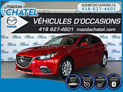 Mazda3 Sport GS - SIÈGES CHAUFFANTS - CAMÉRA - BLUETOOTH 2016