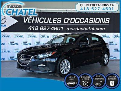 2016  Mazda3 Sport GS - SIÈGES CHAUFFANTS - CAMÉRA - CRUISE