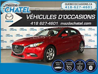 2017  Mazda3 Sport GX - CAMÉRA - CRUISE - BLUETOOTH