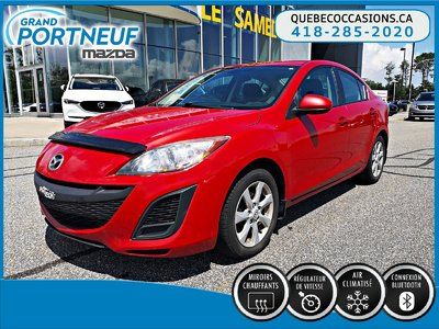 Mazda3 GS - BLUETOOTH - A/C - AUDIO AU VOLANT 2011