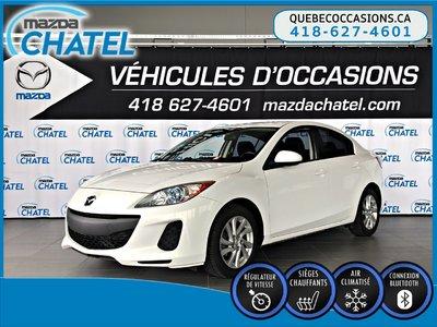 Mazda3 GS-SKY - SIÈGES CHAUFFANTS - CRUISE - BLUETOOTH 2012