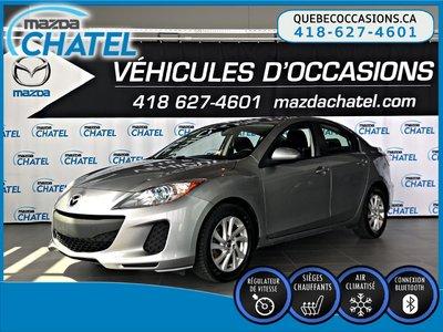 Mazda Mazda3 GS-SKY - SIÈGES CHAUFFANTS - CRUISE - BLUETOOTH 2013