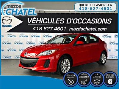 2013  Mazda3 GS-SKY - SIÈGES CHAUFFANTS - CRUISE - BLUETOOTH