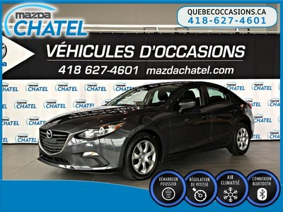 2014  Mazda3 GX-SKY - A/C - CRUISE - BLUETOOTH
