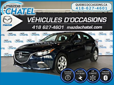 2015  Mazda3 GX - AIR CLIMATISÉ - BLUETOOTH