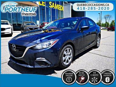 Mazda3 GX - BLUETOOTH - A/C - GROUPE ÉLECTRIQUE 2015
