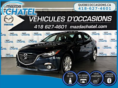 2015  Mazda3 GT - CUIR - TOIT OUVRANT - BOSE