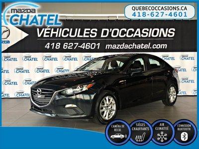 Mazda3 GS - SIÈGES CHAUFFANTS - CAMÉRA - CRUISE 2015