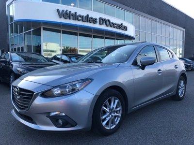 Mazda3 Sport GS - TOIT OUVRANT - SIÈGES CHAUFFANTS - CAMÉRA 2015