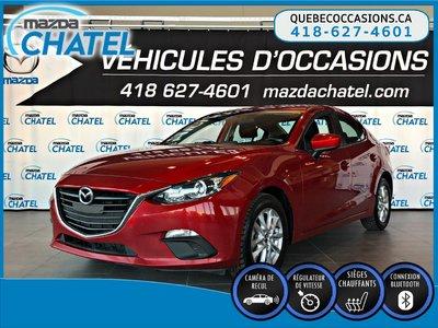 2016 Mazda Mazda3 GS - SIEGES CHAUFFANTS - CAMÉRA - BLUETOOTH