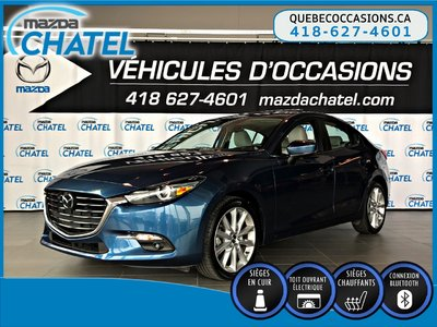 2017  Mazda3 GT - GPS - BOSE - CUIR - TOIT OUVRANT