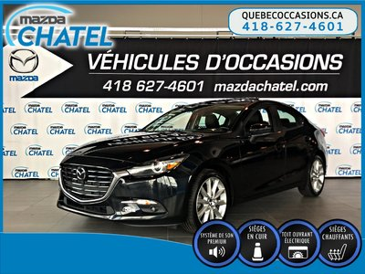 2017  Mazda3 GT - CUIR - BOSE - TOIT OUVRANT