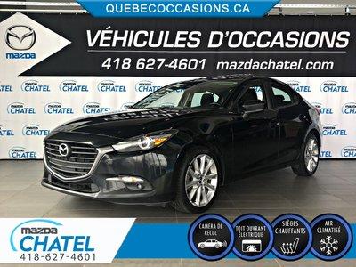 Mazda3 GT - TOIT OUVRANT - SIÈGES CHAUFFANTS - CAMÉRA 2017