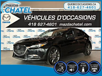 2018 Mazda Mazda3 GT - GPS - BOSE - CUIR - TOIT OUVRANT