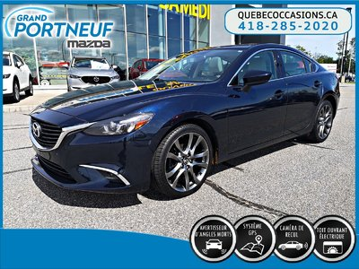 2016  Mazda6 GT - CUIR BLANC - NAVIGATION - TOIT OUVRANT