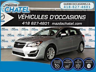 2016 Subaru Impreza TOURING - SIÈGES CHAUFFANTS - CAMÉRA - BLUETOOTH