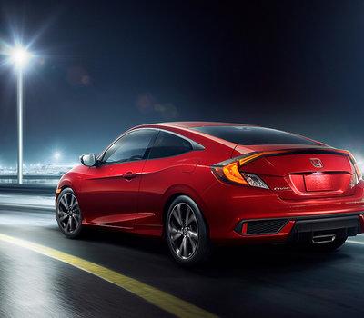La Honda Civic Coupé 2018-2019 : style dynamique, davantage de puissance et efficacité énergétique!