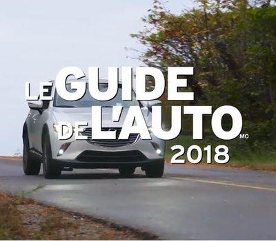 Le guide de l'auto 2018 vous présente le Mazda CX-3