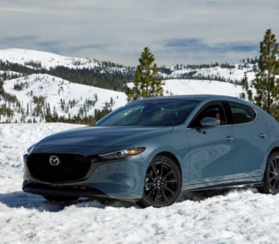 La traction Intégrale i-ACTIV : maintenant sur la Mazda3!