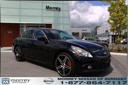 2010 infiniti g37 sedan sport awd for sale nissan burnaby. Black Bedroom Furniture Sets. Home Design Ideas