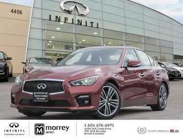 2015 Infiniti Q50 Hybrid - Technology Package Low KMS !