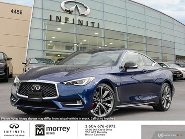 2019 Infiniti Q60 3 0t Red Sport 400 Awd For Sale Morrey