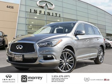 2017 Infiniti QX60 TECHNOLOGY PACKAGE LOADED ULTRA LOW KMS!